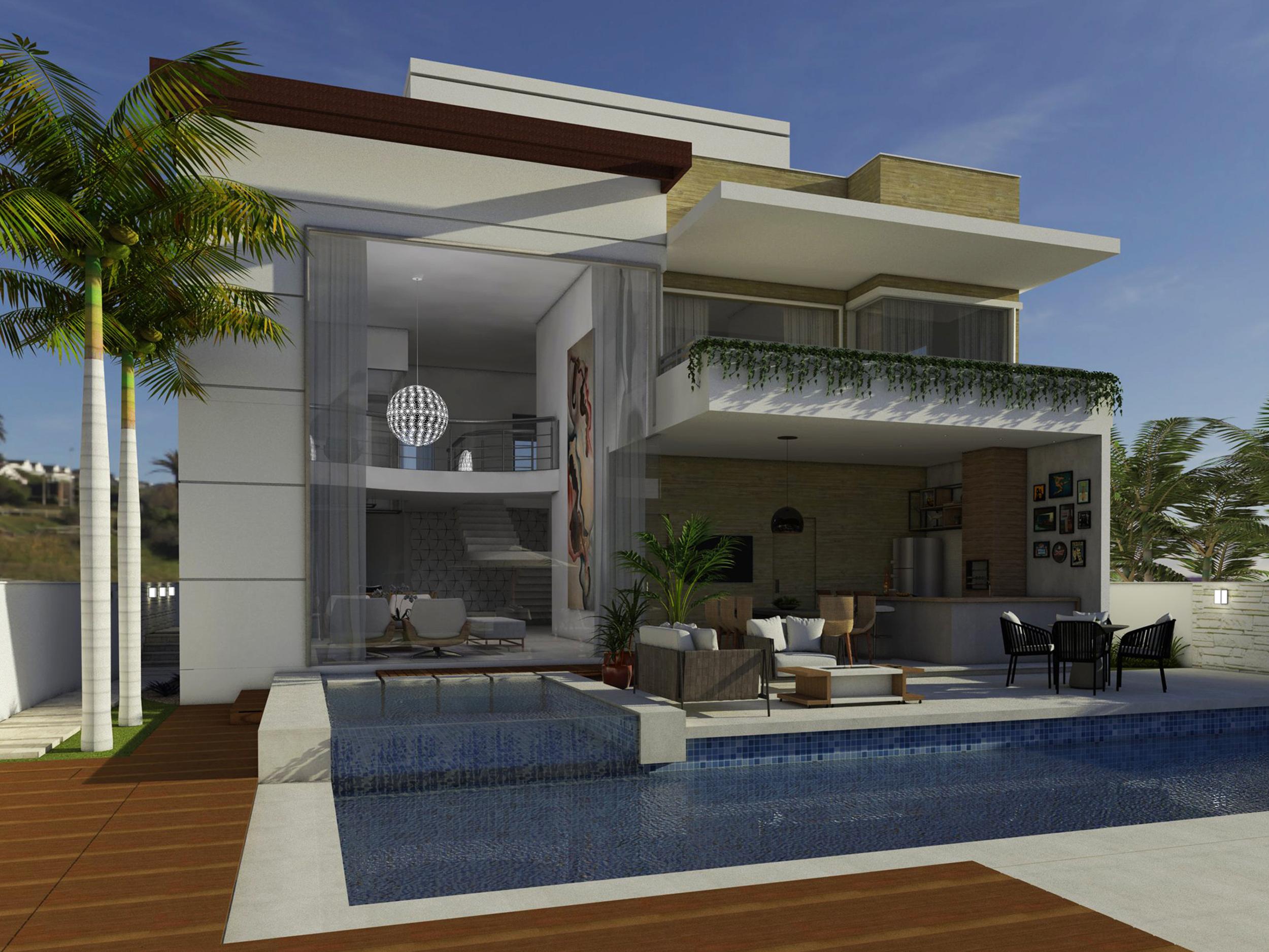 arquitetura-residencial-casa-com-piscina